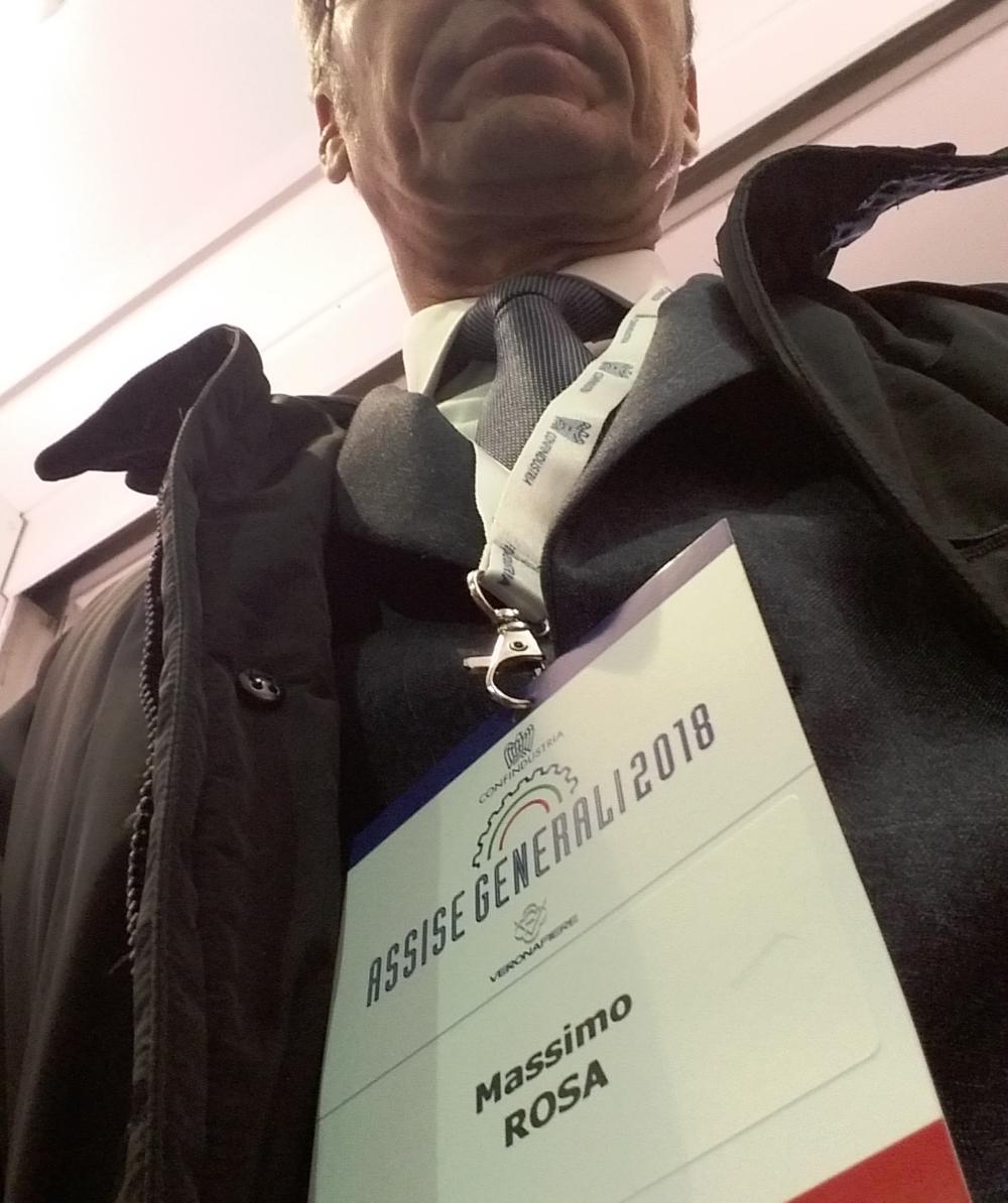 MASSIMO ROSA | Confindustria Verona 2018